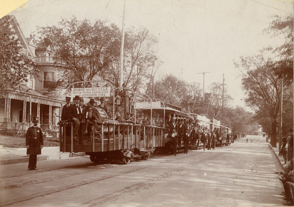 Trolley to the Cotton States Exposition