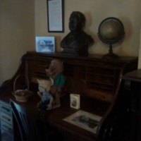 Joel Chandler Harris's desk inside The Wren's Nest