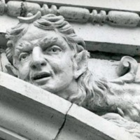 Architectural detail -- human-headed lion -- from Atlanta Terminal Station.tiff